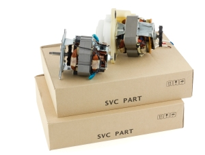 Electric motors and cardboard boxes